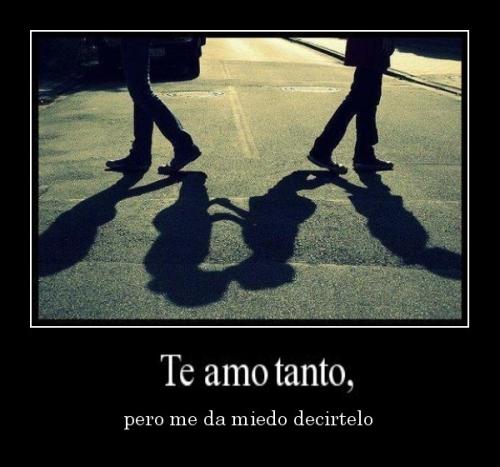 desmotivaciones.mx Te amo pero me da miedo decirtelo 133079114371 Te Amo Tanto