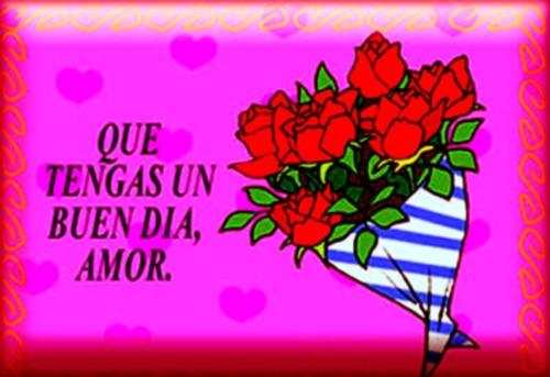 001362 Buenos días mi amor