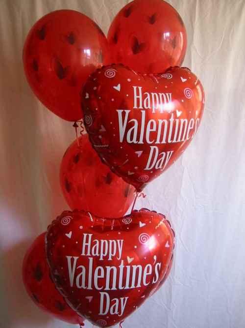 globos de Amor para San Valentin
