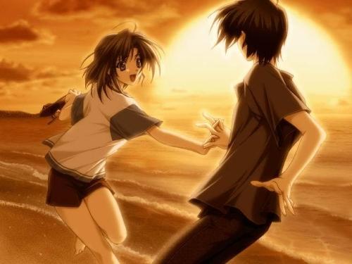 4 Imágenes Animes de amor