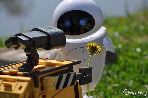 4851849370 558733f5f3 Imágenes de amor de WALL E y EVA