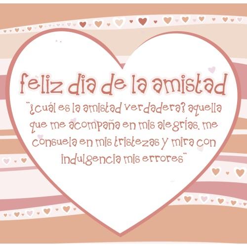 Feliz Dia de la Amistad 2012