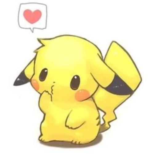 KawaiiChibiPikachu Imágenes de Pikachu enamorado