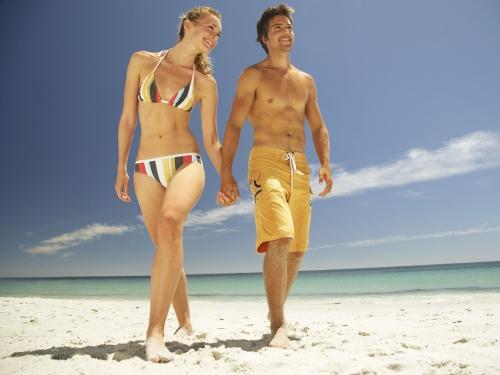 Playas romanticas  imágenes románticas de playa