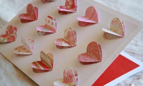 Tarjetas para el día de los enamorados Tarjetas Caseras para San Valentin