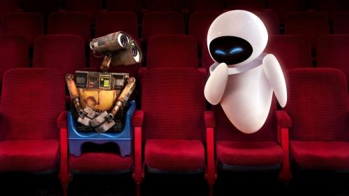 Wall E and Eve 1920x1080 Imágenes de amor de WALL E y EVA