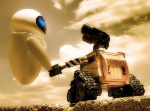 Wall e y EVA Imágenes de amor de WALL E y EVA