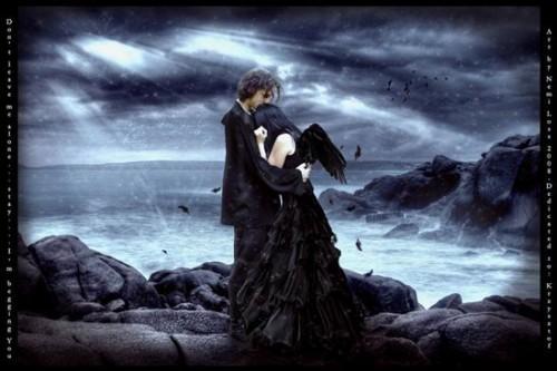 amor gotico e1345850433310 Imágenes Góticas de Amor