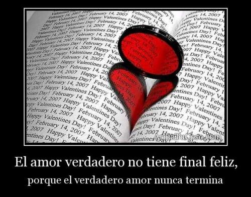 armatucoso el amor verdadero no tiene final feliz 22464 El Amor Verdadero
