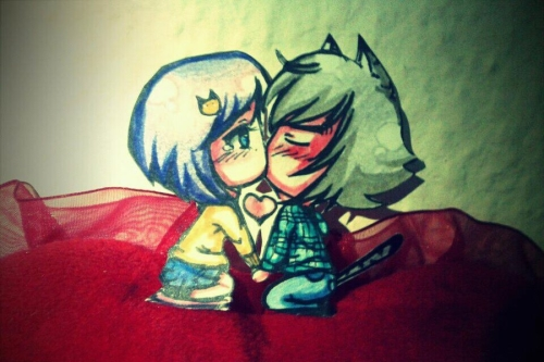 Chibis de amor