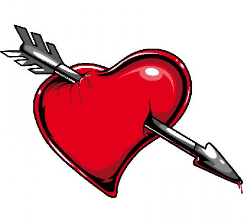 corazon flechado e1348934216121 Imágenes de Corazones Flechados