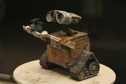 demo Imágenes de amor de WALL E y EVA