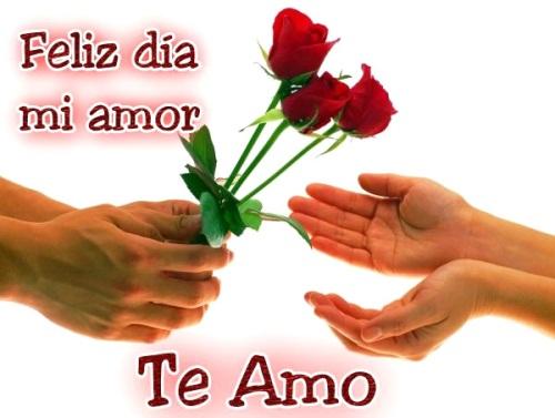 Feliz dia del amor