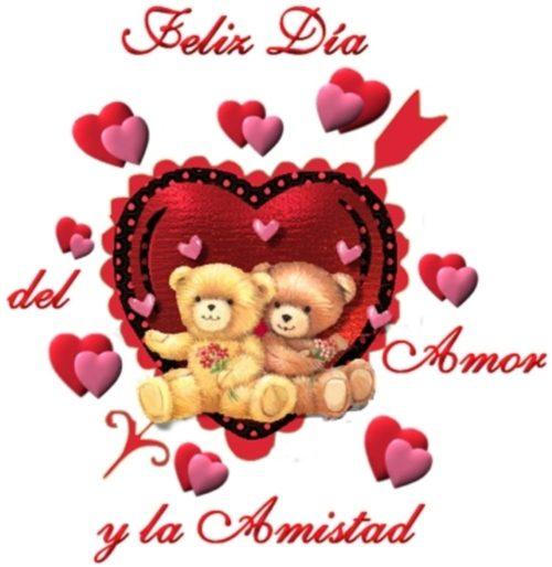 dia del amor y la amistad Postales de Ositos para San Valentín