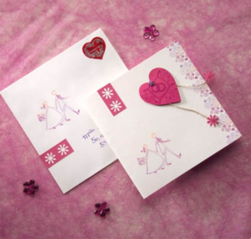 fairepart Tarjetas Caseras para San Valentin
