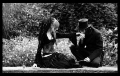 imagenes tiernas de amor gotico Imágenes Góticas de Amor