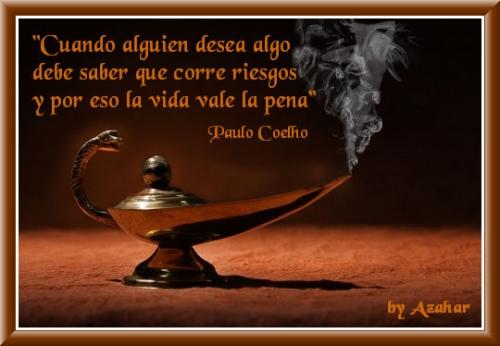 lampara Reflexiones de amor de Paulo Coelho