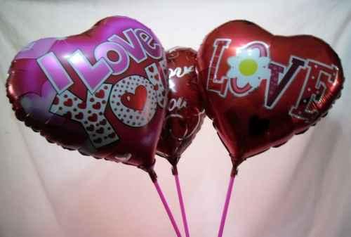 lote de 20 globos grandes metalicos san valentin haz negocio MLM F 3729743574 012013 Globos de Amor para San Valentin