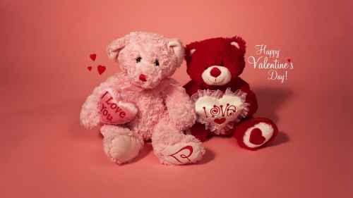 Postales de ositos para San Valentín