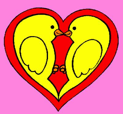 pajaritos enamorados1 Imágenes de pajaritos enamorados
