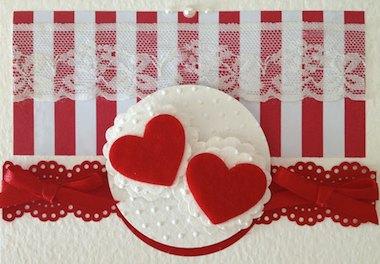tarjeta amor corazones ¿Cómo hacer tarjetas de amor?