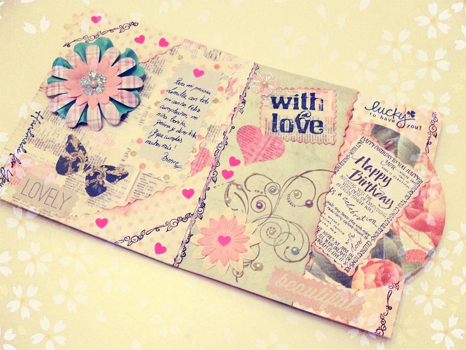 tarjeta cumpleac3b1os hecha a mano 5 ¿Cómo hacer tarjetas de amor?