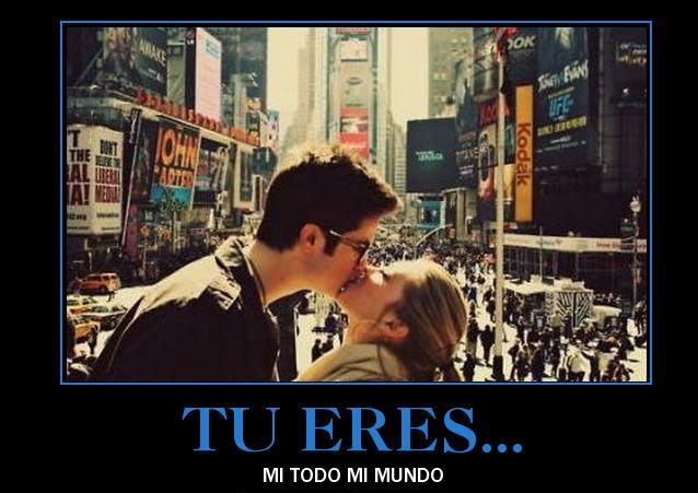 Tu eres mi mundo