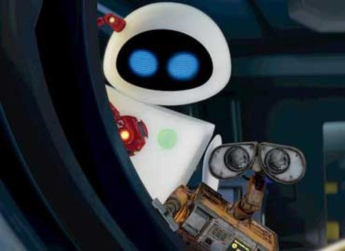 wall e 370x270 Imágenes de amor de WALL E y EVA