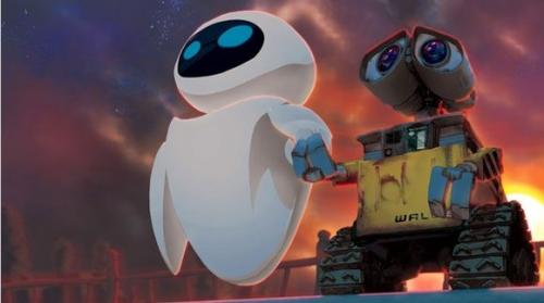 wall e y eva evolucionados Imágenes de amor de WALL E y EVA