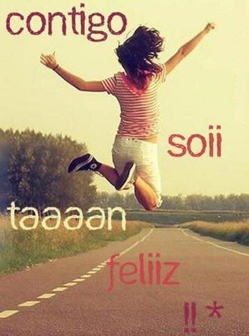 Contigo soy feliz