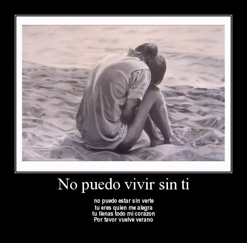No puedo vivir sin ti