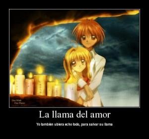 La llama del amor