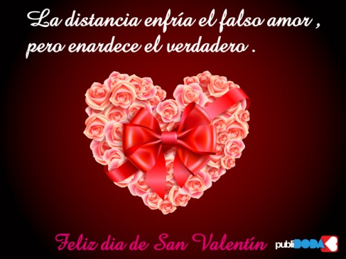 Postales para amores a distancia - Postales dia de san valentin ...