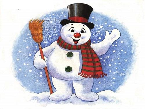 Muñeco de nieve Frosty