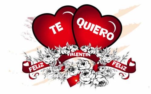 tarjetas de Te Amo para San Valentin