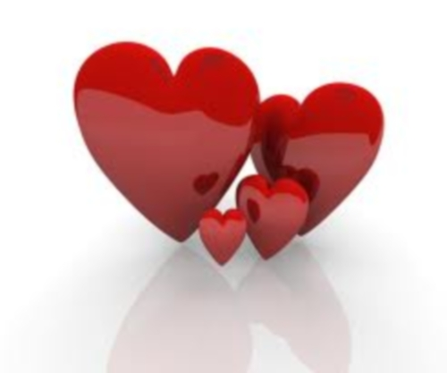 imágenes de corazones enamorados