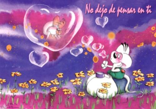 Postales romanticas