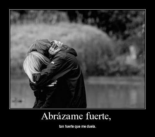 Abrazame fuerte