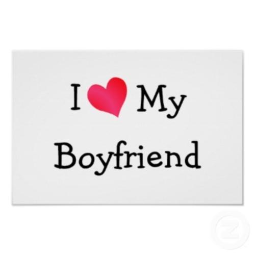 Yo amo a mi novio