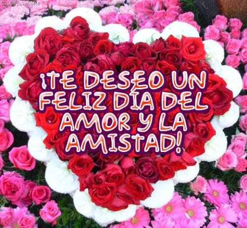 Feliz dia del amor y la amistad
