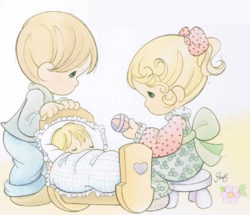Precious Moments de amor