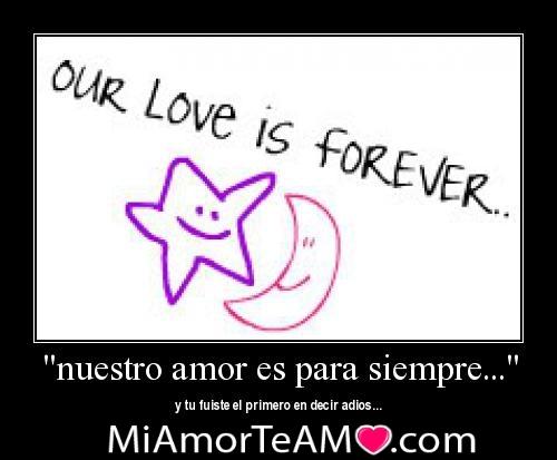 Nuestro amor es para siempre