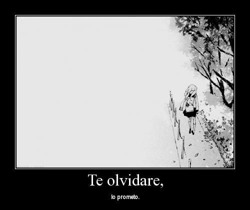 Te olvidare