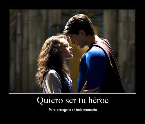quiero ser tu heroe