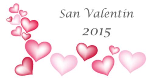 san valentin 2015